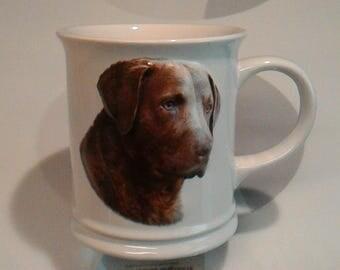 Chesapeake Bay Retriever 3-D Coffee Mug by XPRES best friend originals/Barbara Augello