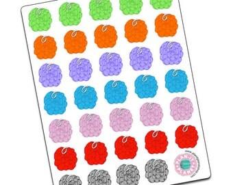 Loofa/Loofah Stickers