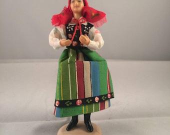 Vintage Polish Handmade Doll