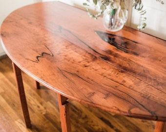853   Drop Leaf Mesquite Table