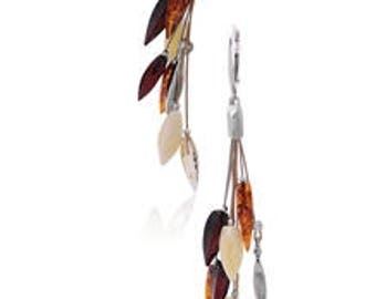 Amber Rain Earrings