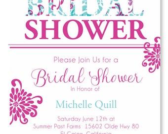 Bridal Bliss Bridal Shower Invitation