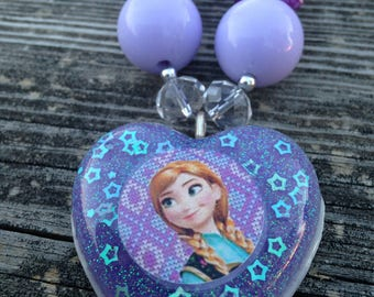 Jewelry - Necklaces - Beaded necklaces - Princess necklace - Anna - Frozen jewelry - Anna jewelry - Anna necklace - Frozen necklace - Frozen