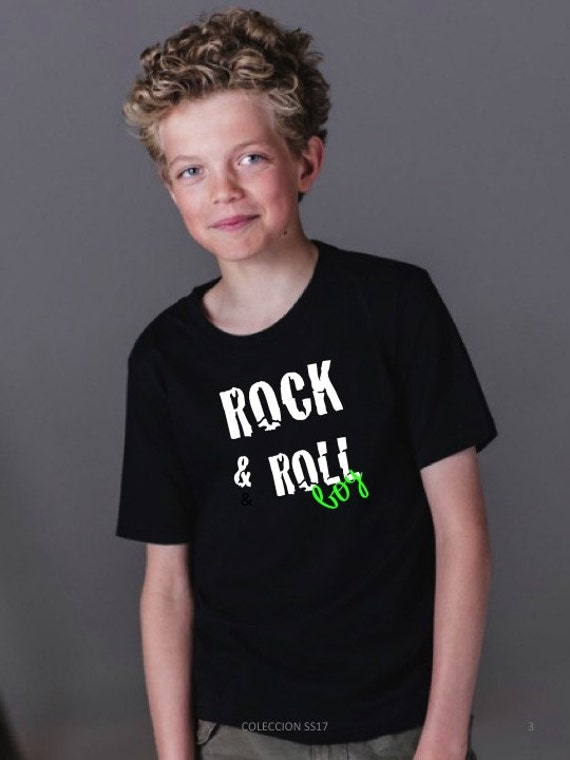 Boy t-shirt ROCK & ROLL BOY