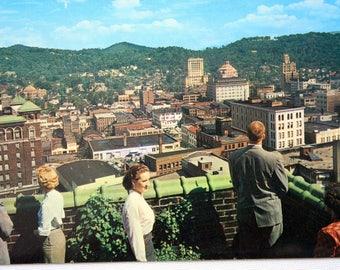 Asheville North Carolina Postcard / Asheville Postcard / vintage Asheville