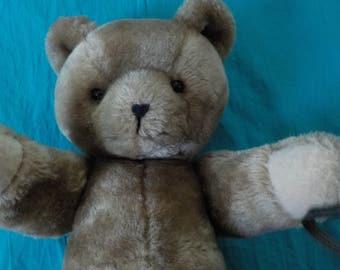 teddy bear, handcrafted by MB Deehan,