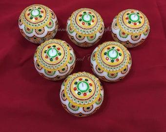 Set of 10 Candles, Diwali Decor, Diwali Gift, Indian Decor, Diwali Candles, Housewarming Gifts, Indian Wedding favors, Return Gift for guest