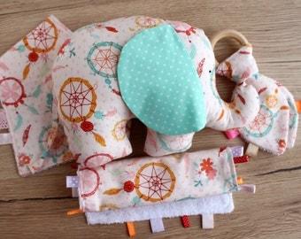 New baby girl gift etsy elephant baby gift set new baby girl gift unique baby gift elephant baby negle Images