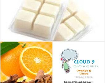 Orange and Clove Soy Wax Melt