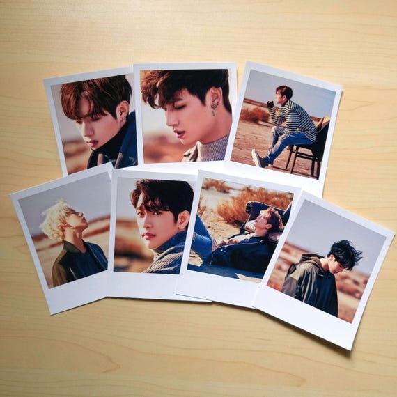 GOT7 Never Ever Polaroids Photocards