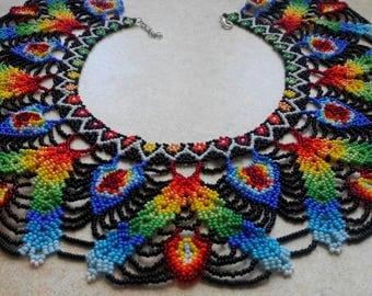 Ethnic SARAGURO Beaded Collar