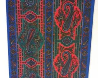 78.  Pretty sheer vintage scarf