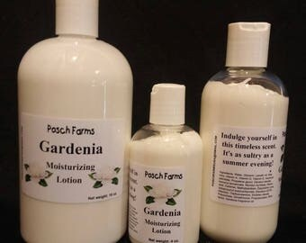Gardenia Moisturizing Lotion 8oz