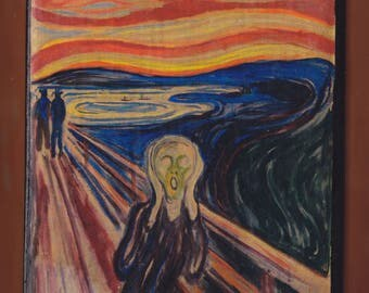 The Scream - Edvard Munch, National Gallery, Oslo, Norway.FREE SHIPPING