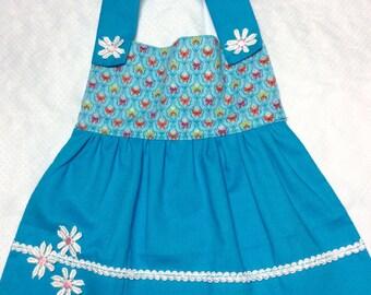 Adorable Bibs! Bibs! Bibs! Handmade Baby Bib Butterfly Print Turquoise Skirt Shower Gift Special Little Baby Gift