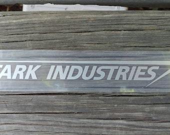 Stark Industries sticker decal Sliver