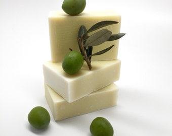 Olive Only Soap Bar