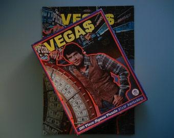 Vegas TV Show Jigsaw Puzzle ~ 1978 ~ Robert Urich