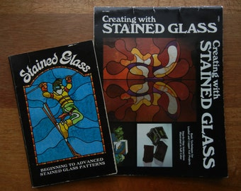 Creating with Stained Glass and Stained Glass Patterns ~ 1976