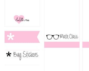 Planner Minis - Nerd Glasses