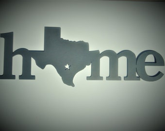 Home State-TX shown
