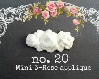 Mini 3-Rose swag