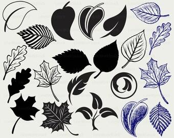 Leaves svg,leaf clipart,leaves svg,leaves silhouette,leaf  cricut cut files,leaves clip art,leaves digital download designs,svg,dxf