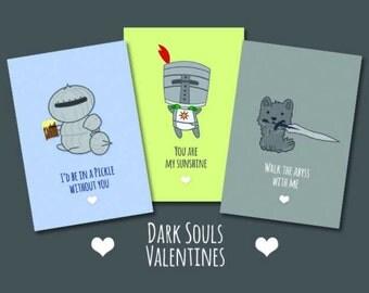Dark Souls Valentines Day Cards
