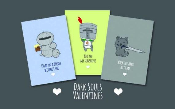 Dark Souls Valentines Day Cards – Dark Valentines Day Cards