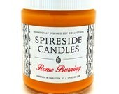 Rome Burning ® Candle - Spireside Candles - Disney Candles - 8 oz Jar