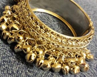 2 1/2 in Silver Bangle Bracelet