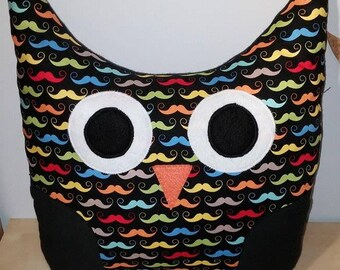 Mustache OWL cushion