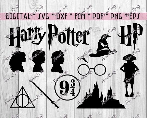 Harry Potter Svg Clipart Digital Vector Cutting File Logo