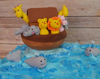 Noah's Ark  Cake Decorating Kit (100%) Edible