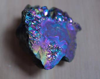 Titanium Coated Aura Crystals