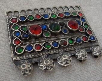 Kuchi Rectangle. Tribal, Gypsy, Component, Ethnic