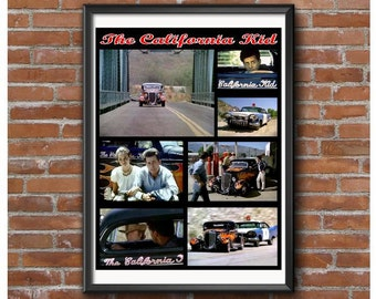 California Kid Tribute Poster – 1934 Ford Coupe Pete Chapouris
