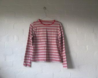 stripey long sleeve top