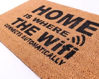 Doormat WI-FI