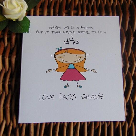 Birthday Day Card Personalised Birthday Card Cute Birthday Day