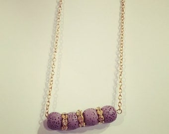 LSU Tigers Diffuser Necklace