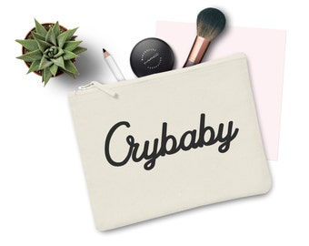 Crybaby Makeup Bag Canvas Pouch Make up Cry Baby