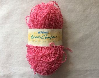 New Skein Beach Comber Bright Pink DK Double Knitting Yarn by Patons Acrylic/Polyester 50 g (1.75 ounces)