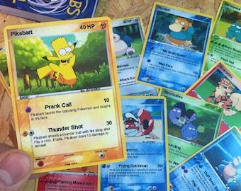Simpsons x Pokemon Trading Card Bundles