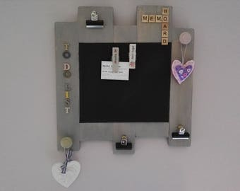 Shbby chic memo notice board
