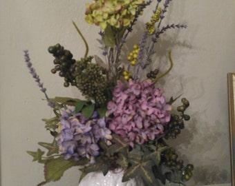 Owl Floral Arrangement