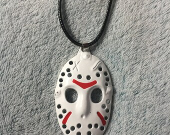 Friday The 13TH Mask Necklace