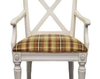 ETHAN ALLEN Regent's Park Dining Arm Chair 10-6400A