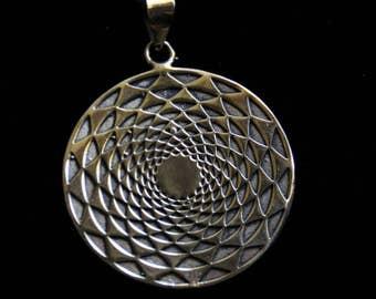 Crop Circle Bronze Chain - Sacred Geometry - Bronze - Designn- Infiny - Shamanic - Spiritual - Trance - Freaks - SP23