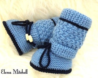 Crochet Baby Shoes Baby Boy Booties Crochet Baby Boy Newborn Baby Boots Knitted Baby Uggs Infant Booty Knit Baby Boy Shower Winter Baby Boy